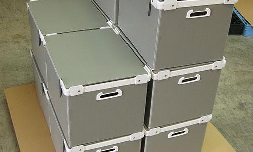 プラダン通い箱(リブあり)