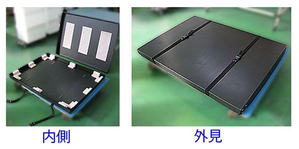LEDライトパネルの保管ケース